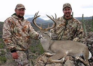 Successful Coues Whitetail Hunters Slideshow